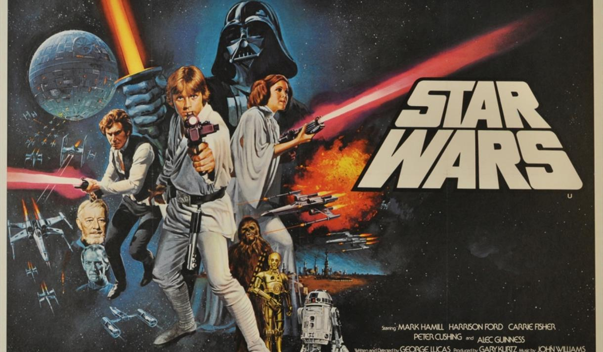 Star Wars Poster - may the force be with you