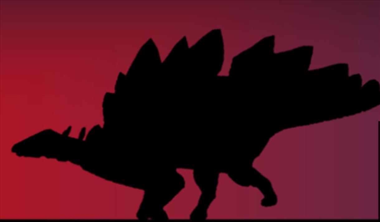 Stegosaurus outline