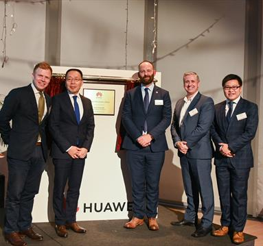 Huawei opens in Manchester
