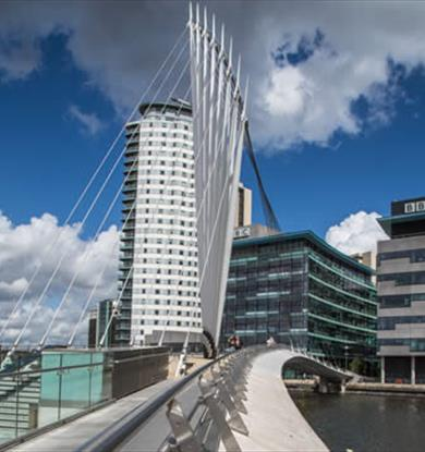 MediaCityUK bridge