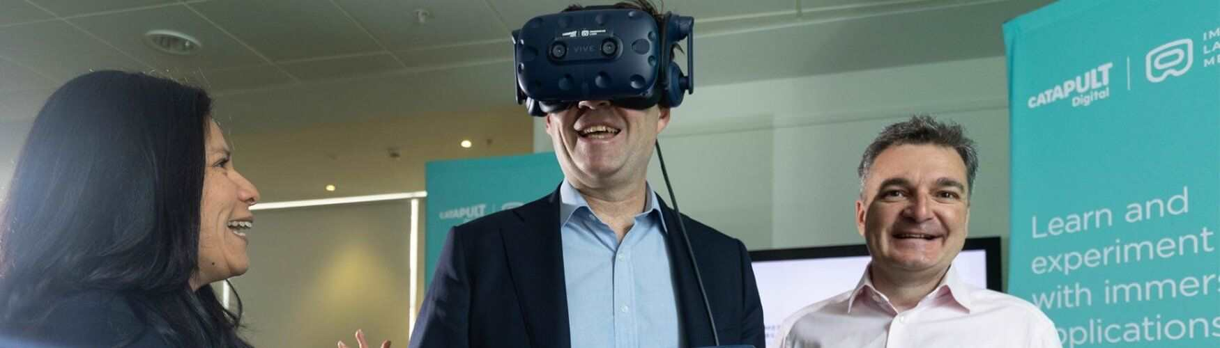 Immersive tech launch with Andy Burnham