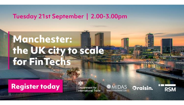 City to Scale for FinTechs event banner