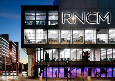 RNCM building at night