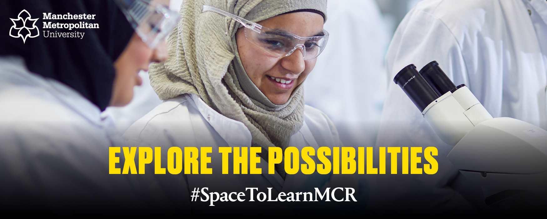 Manchester Metropolitan University Campaign Banner