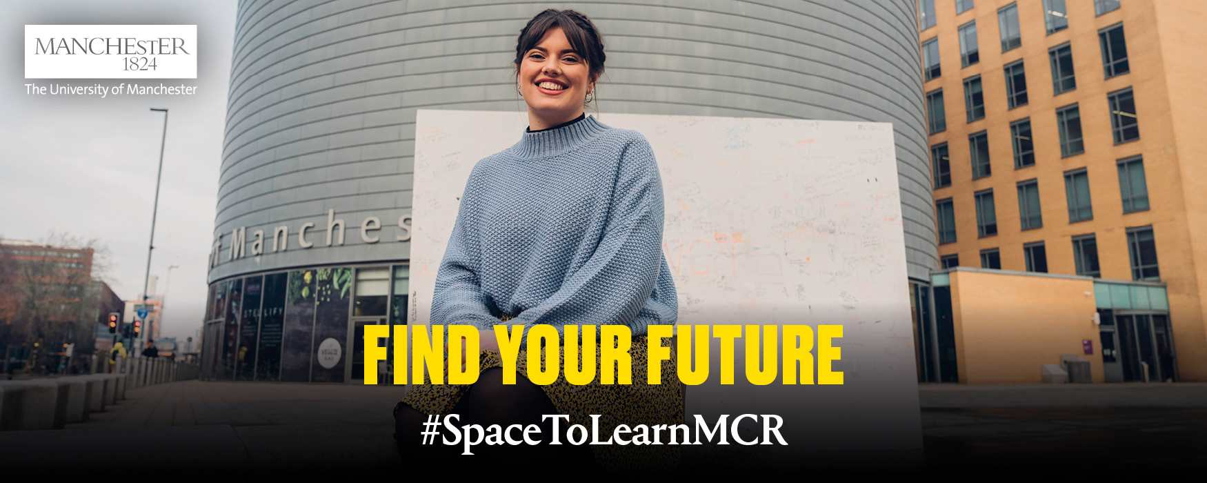 Space  to Learn in Manchester banner