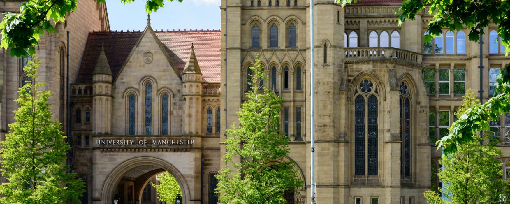 The University of Manchester exterior