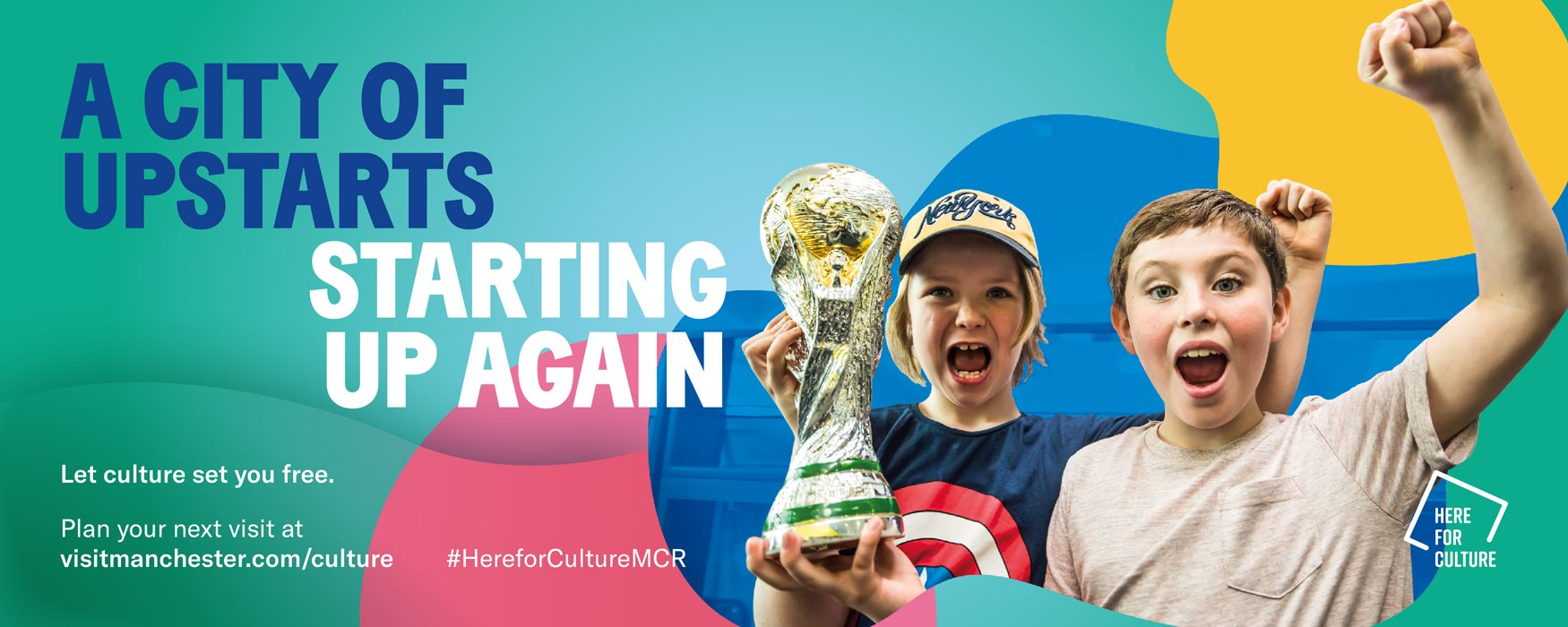 Manchester culture campaign artwork