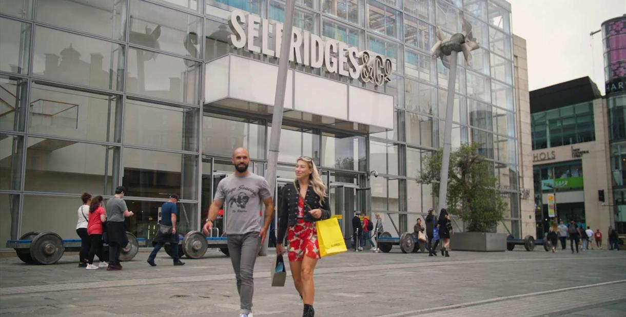 Shopping in Manchester City Centre