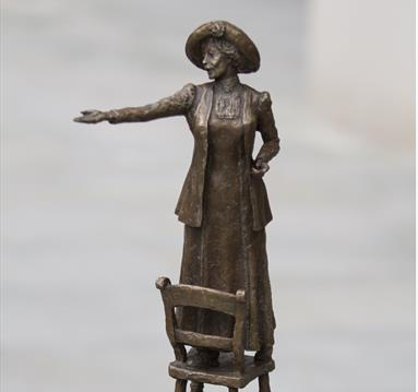 Plans for the unveiling of Emmeline Pankhurst statue