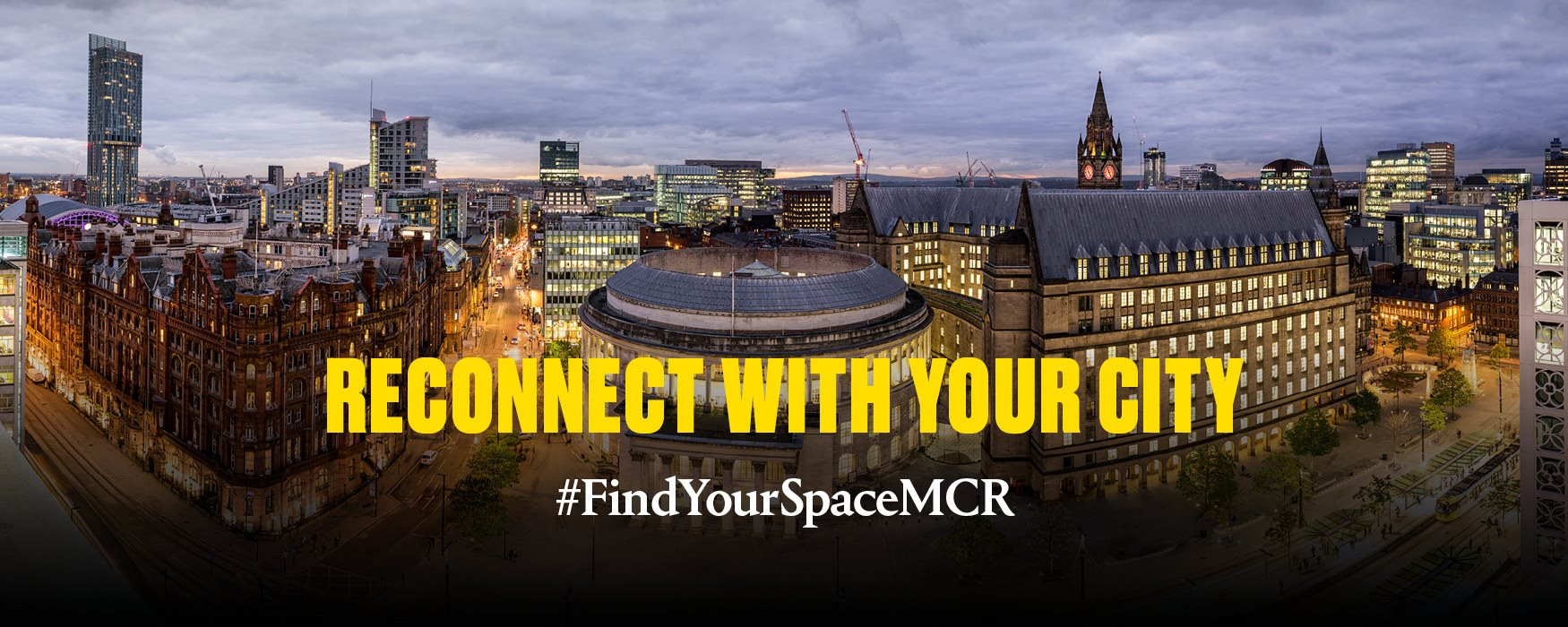 Find Your Space in Greater Manchester Header Cityscape