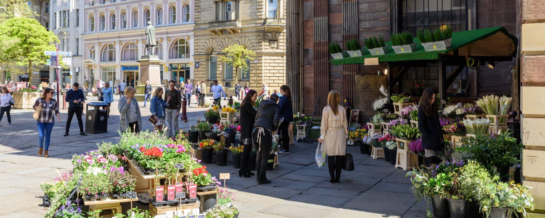 Markets in Manchester