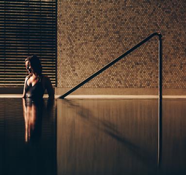 Female in Pool