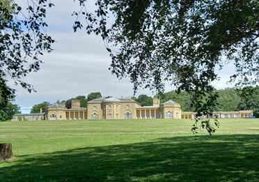 Heaton Hall & Park Tour: Glorious interiors and glorious landscape.