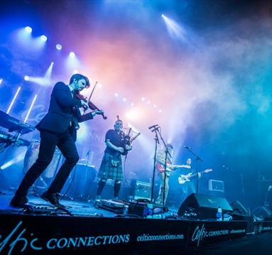 Peatbog Faeries on stage