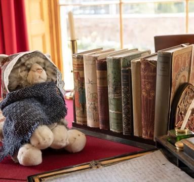 Cuddly toy: Cranford cat
