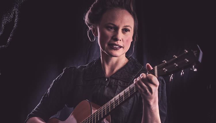 Singer and songwriter Louise Jordan