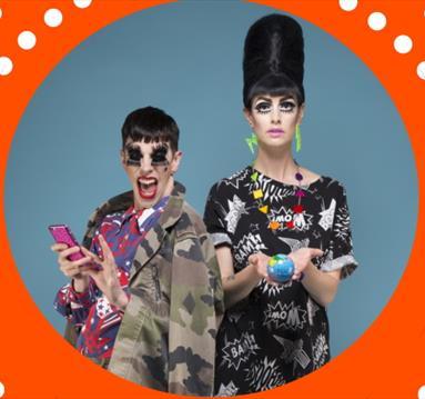 Cabaret sensationsBourgeois & Maurice, orange frame