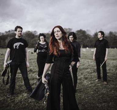 Kathryn Tickell and the band