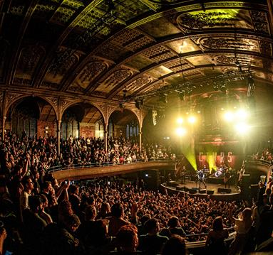 Albert Hall during a concert