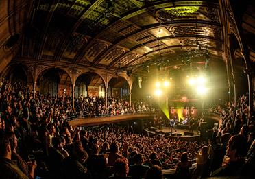 Albert Hall during a concert