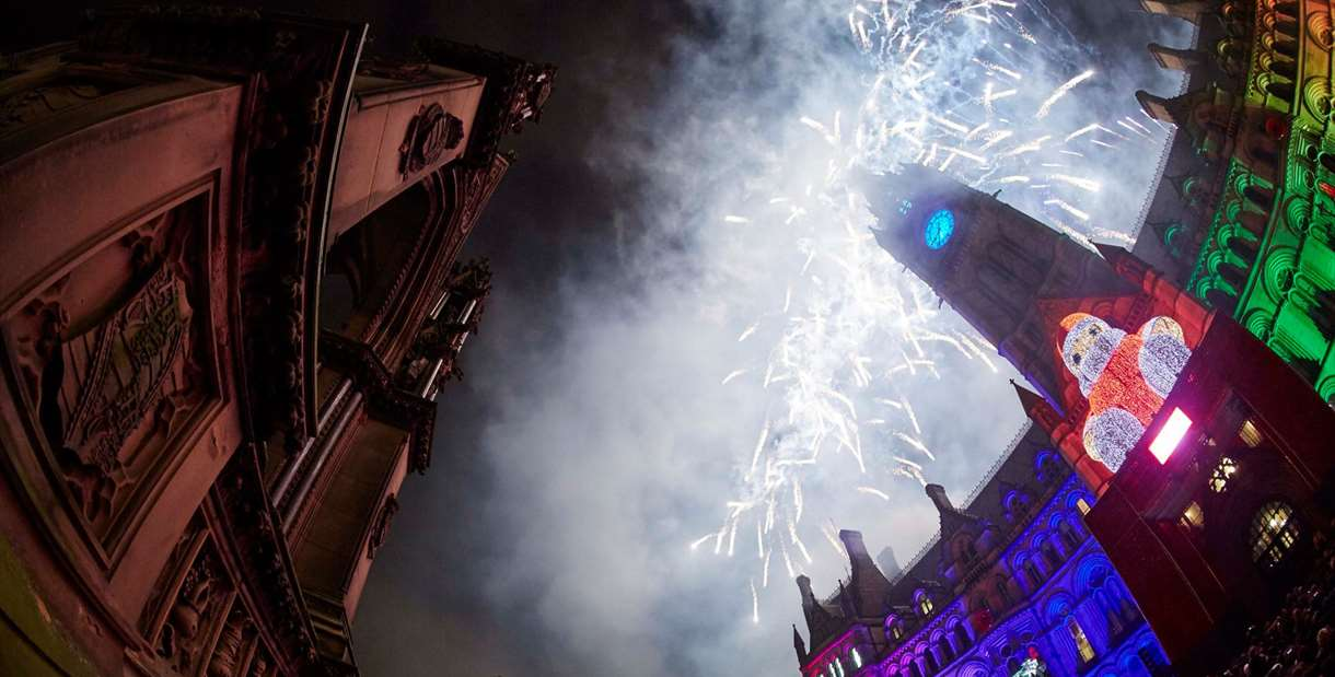 Manchester New Year's Eve Fireworks