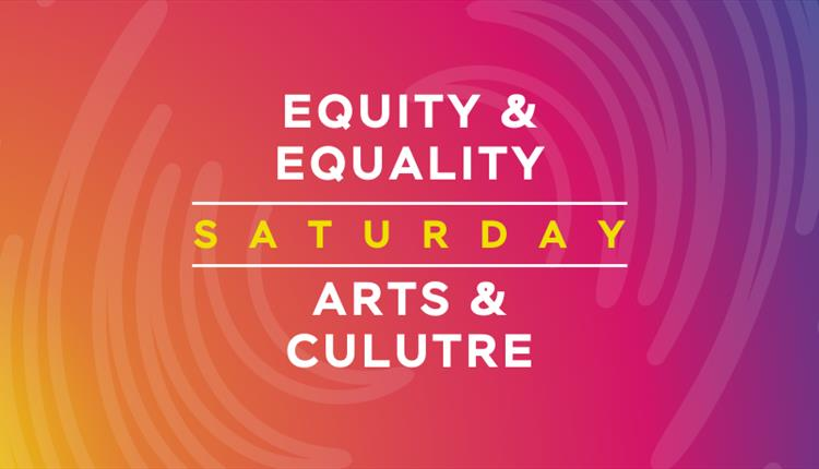 Pink poster: Equity and Equality