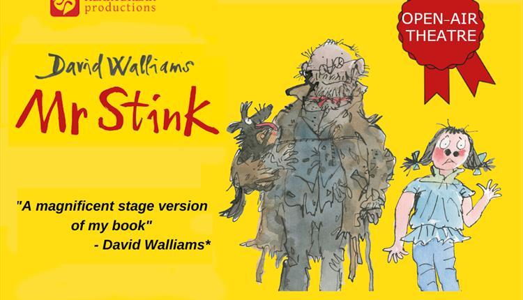 Yellow poster: Mr Stink
