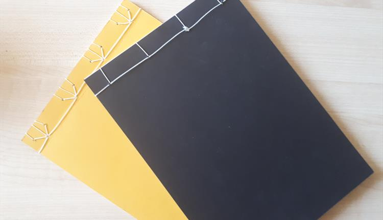 Introduction to book binding - a Crafternoon Tea