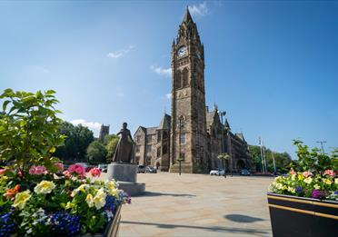 Rochdale Town Hall.