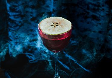 Poison Apple Cocktail at 20 Stories
