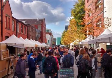 Levy Market at UoM - Street Food Market