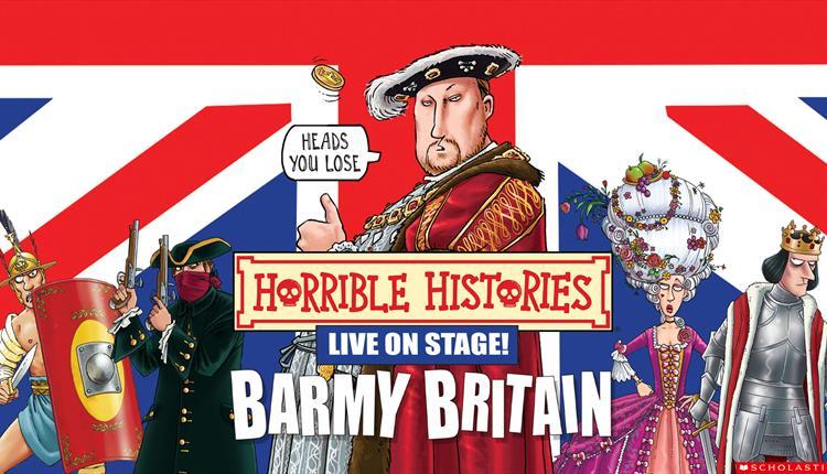 Poster: Horrible Histories - Barmy Britain