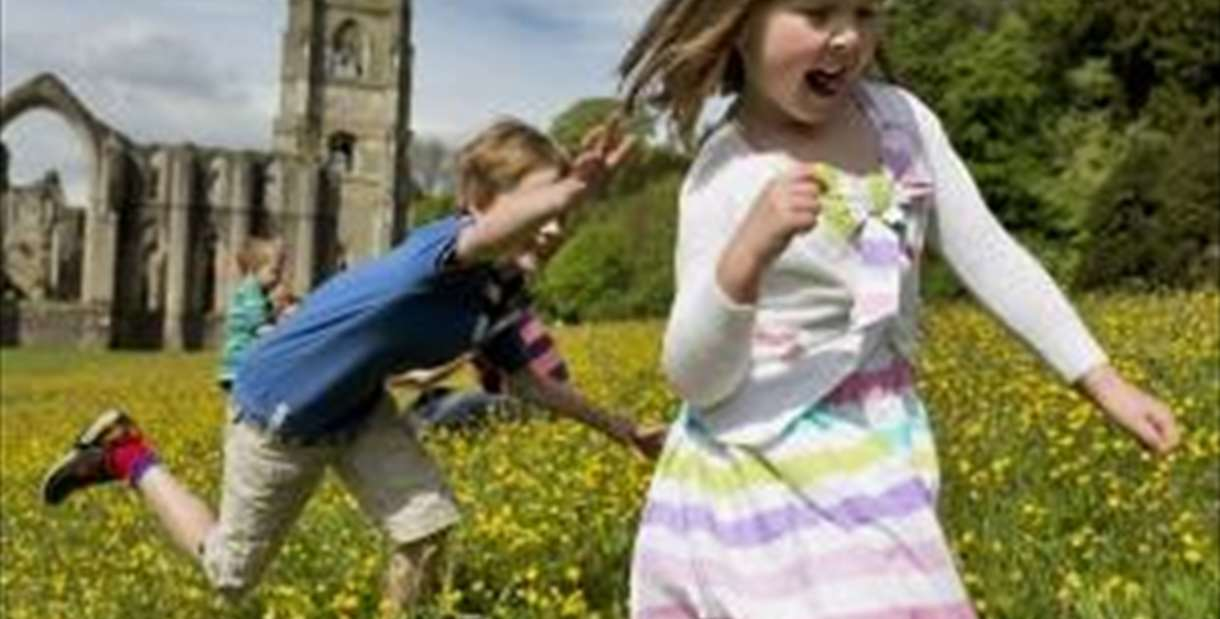 Spring Fun at Fountains Abbey & Studley Royal