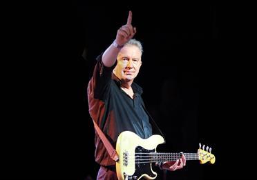Tom Robinson on stage