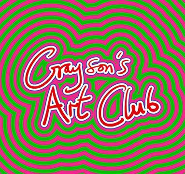 Poster: Grayson's Art Club