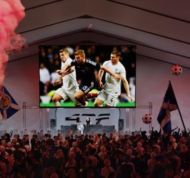 Manchester fan zone