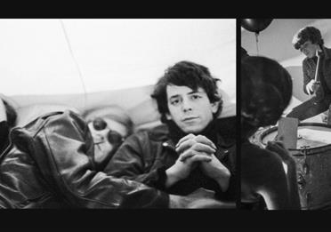 Black and white image: The Velvet Underground