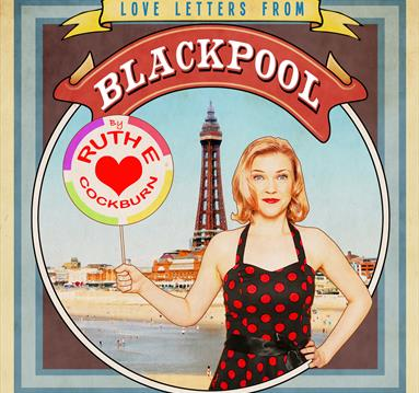 Vintage poster: Love Letters from Blackpool