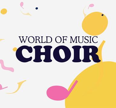 Poster: World of music choir
