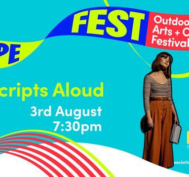 Blue poster: HOPE FEST: Manchester ADP