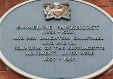 Pankhurst Centre Plaque