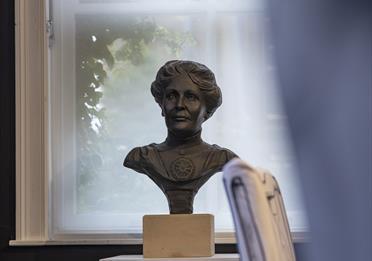 Bust of Emmeline Pankhurst