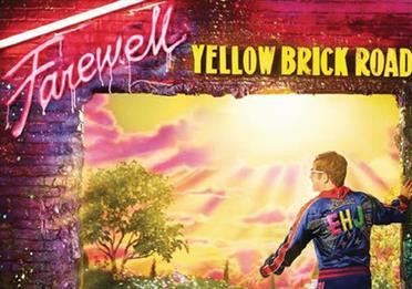 Poster: Elton John Yellow Brick Road