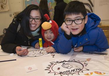 Children, workshop, drawing