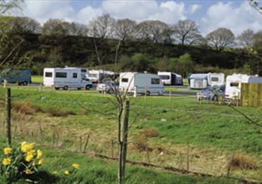 Burrs Country Park Caravan Club Site
