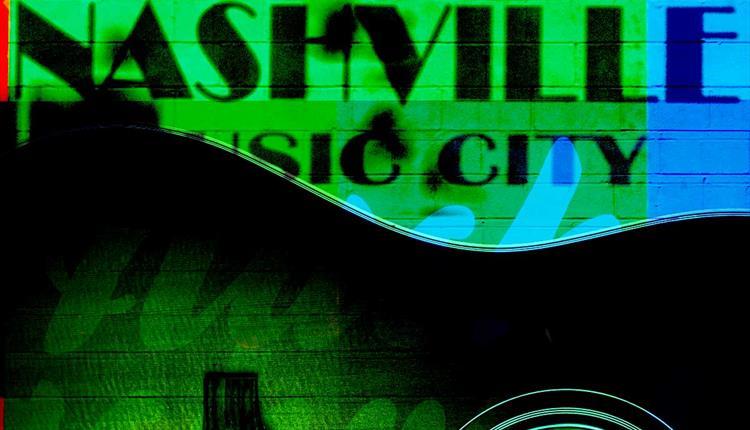 Green poster: The Hallé Goes to Nashville