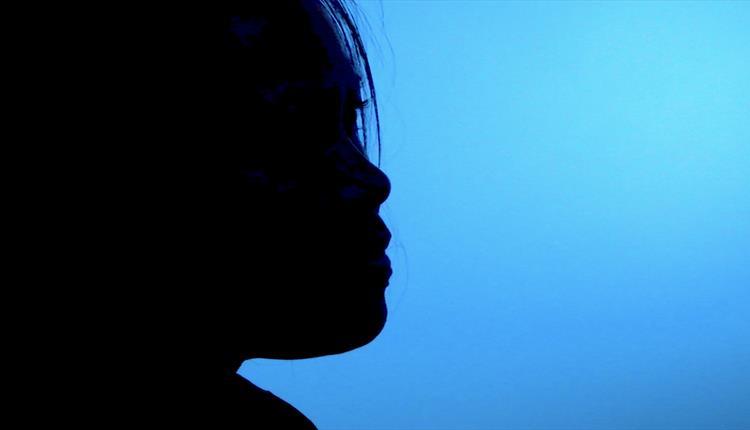 Female face, profile
