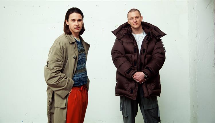 London duo Jungle in winter coats