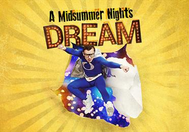 Poster saying: A Midsummer Night's Dream