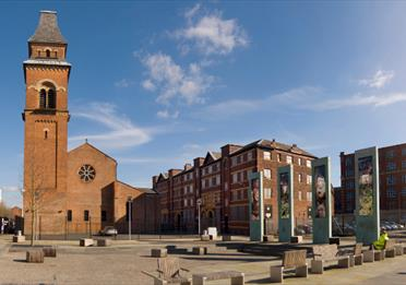 Cutting Room Square, Ancoats